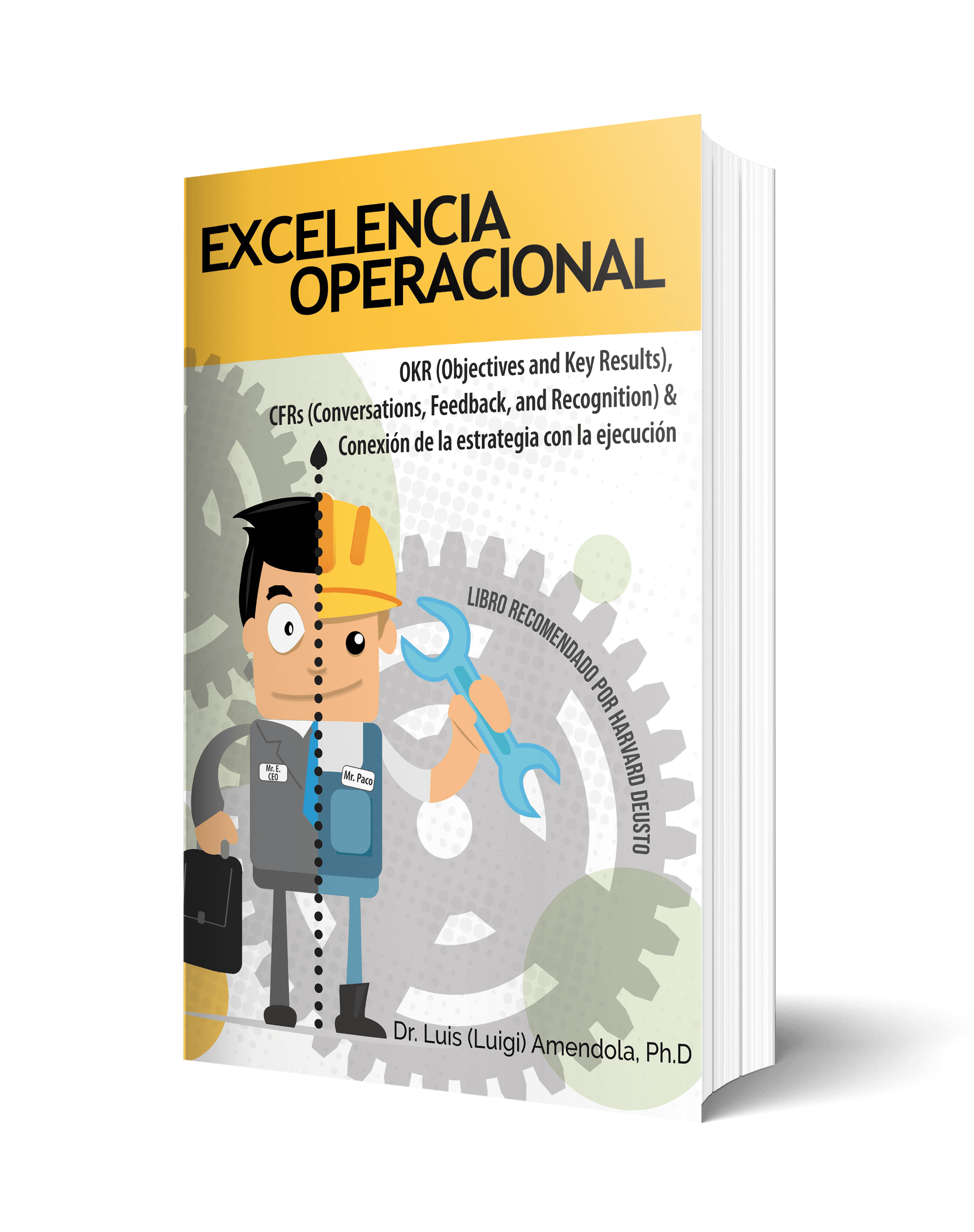 Portada Libro Excelencia Operacional